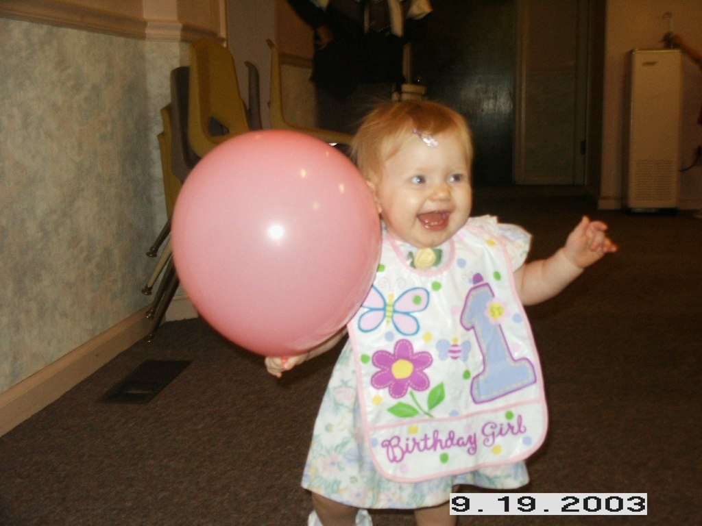 Syd with balloon
