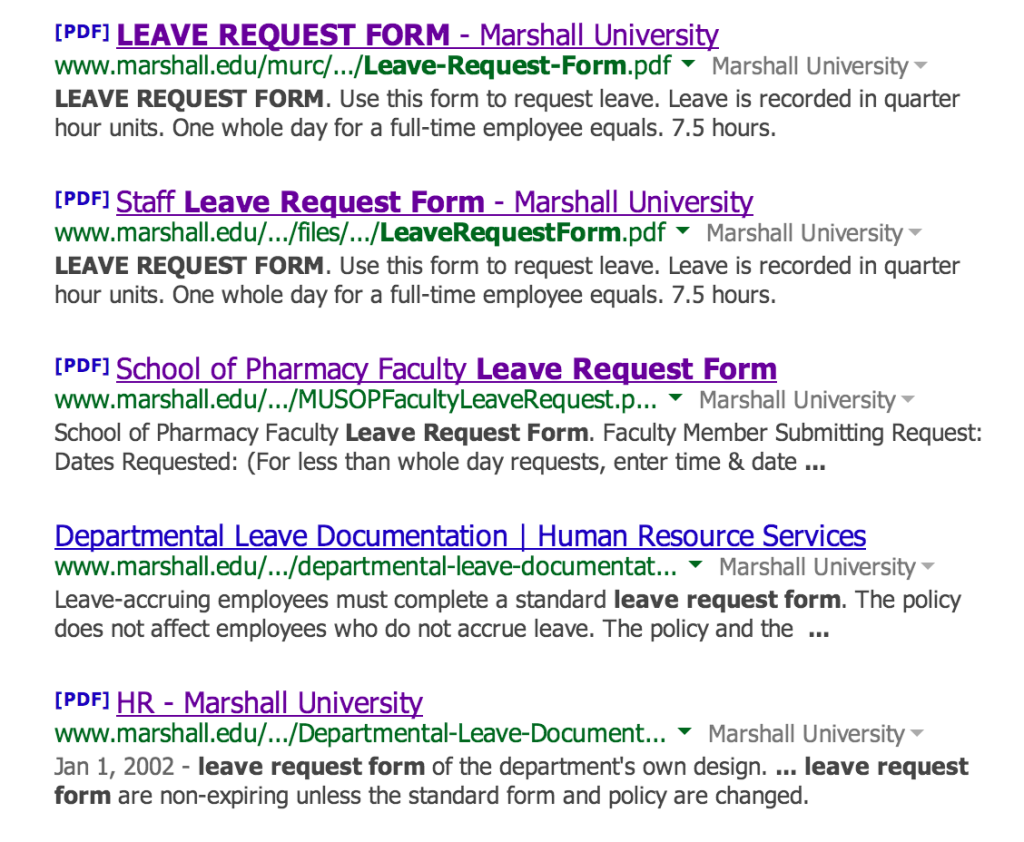 site_marshall_edu__leave_request_form__-_Google_Search